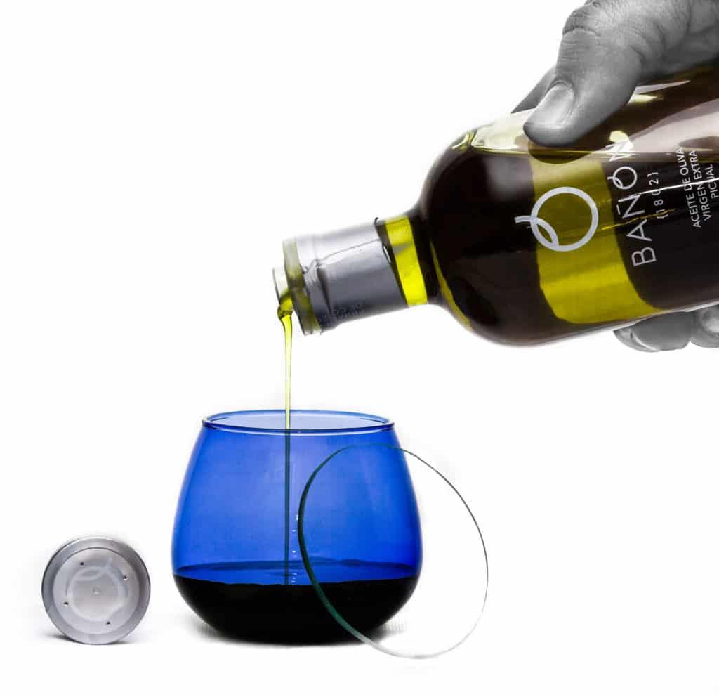 Botella Vaso Cata Aceite Bañón