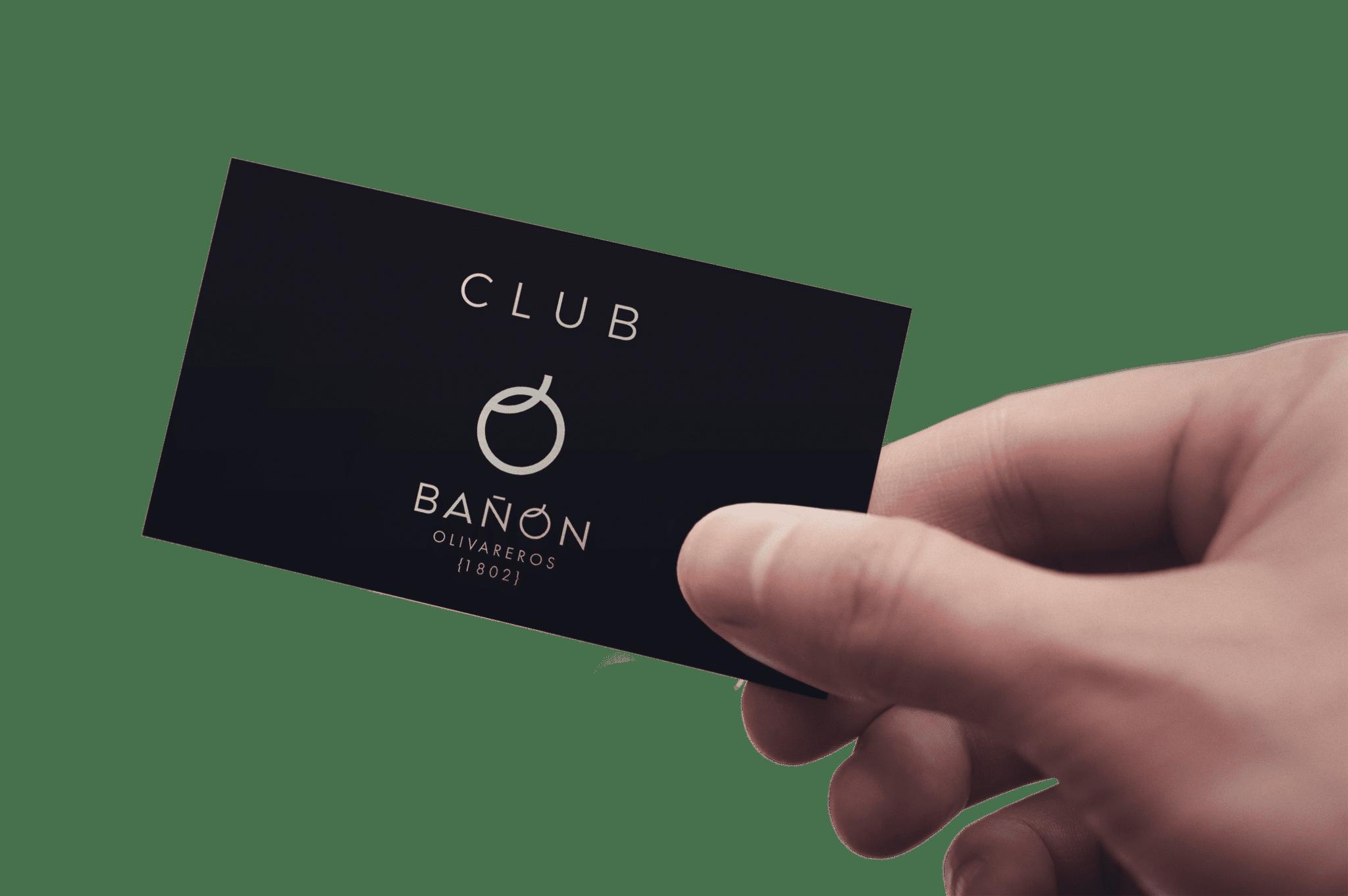 Tarjeta Club Bañón