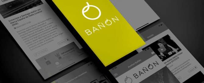 Aceites Bañón presenta su nueva App